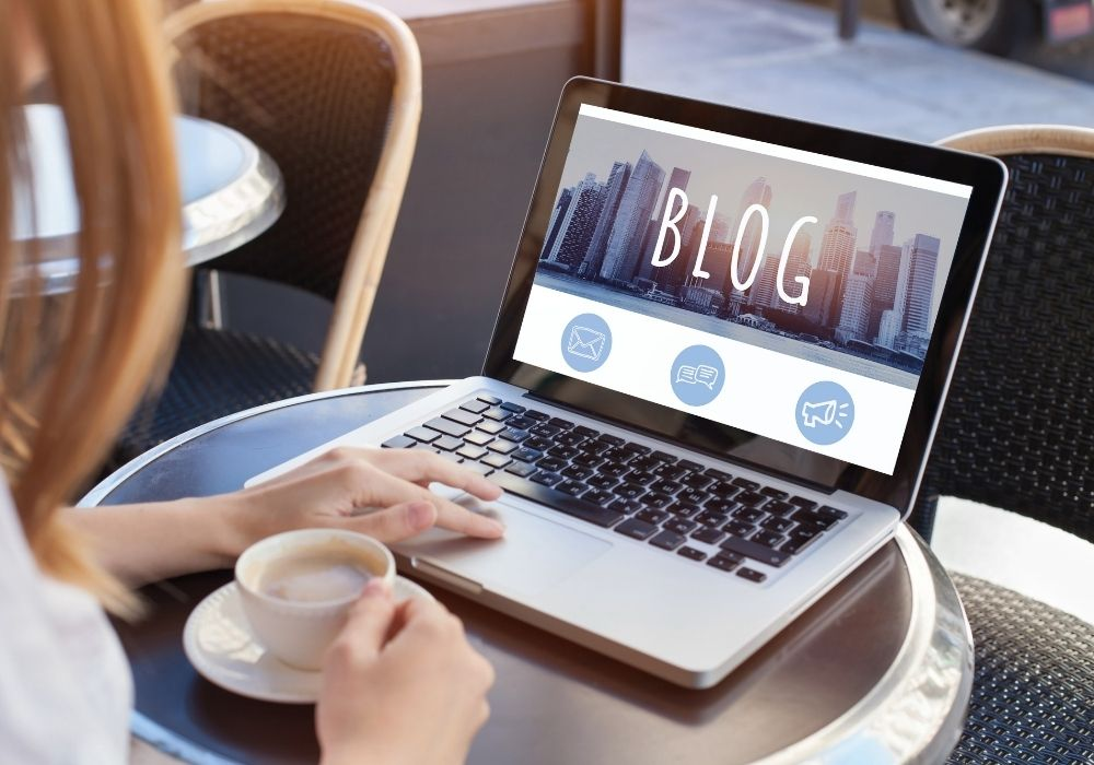 start a blog and share your story
