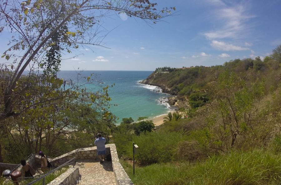 one of puerto escondidos best beaches
