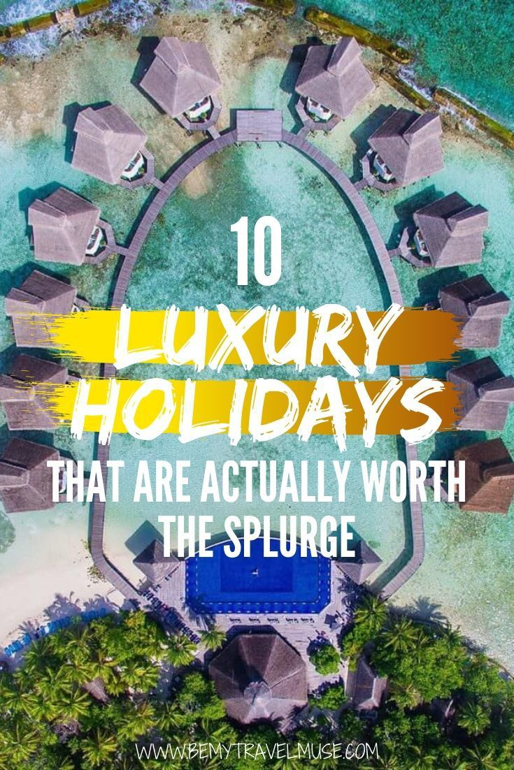 What's on your luxury travel bucket list? Here are 10 luxury travel experiences around the world that are totally worth the splurge, including swimming with whales, flying first class, and having a life-changing cuisine. Click to read the full list now! #LuxuryTravel
