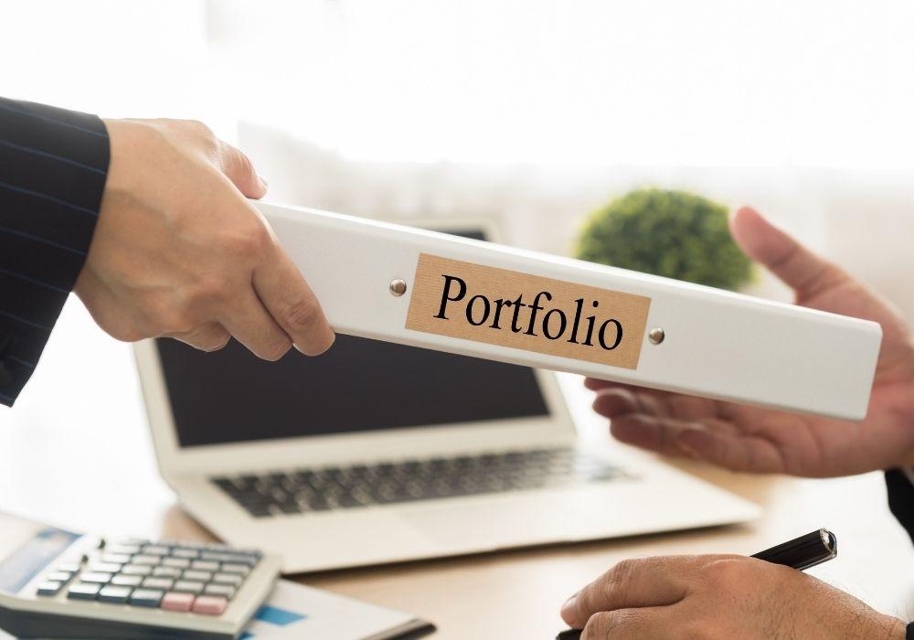 start a blog and build a portfolio