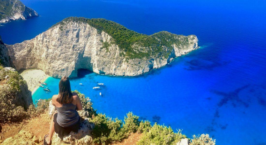 Zakynthos Greece Shipwreck Cove