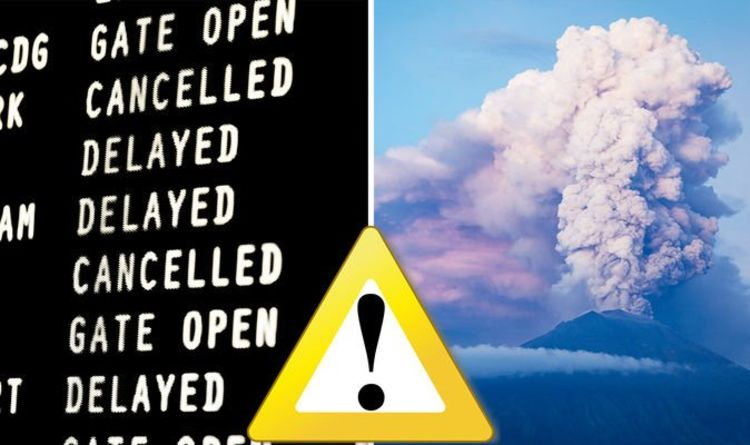 Bali volcano: Flights cancelled after Mount Agung eruption ash cloud sparks travel chaos