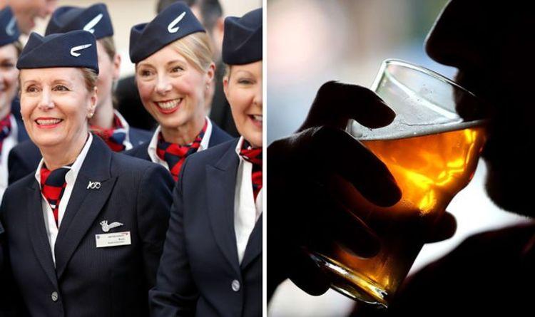 British Airways: Cabin crew reveal why passengers get drunk QUICKER in the air