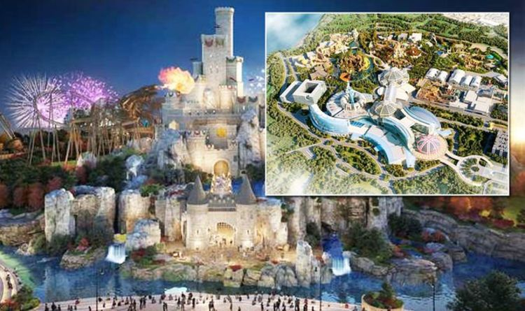 UK theme park to rival 'Disney Land' to open 20 minutes from London – first pictures