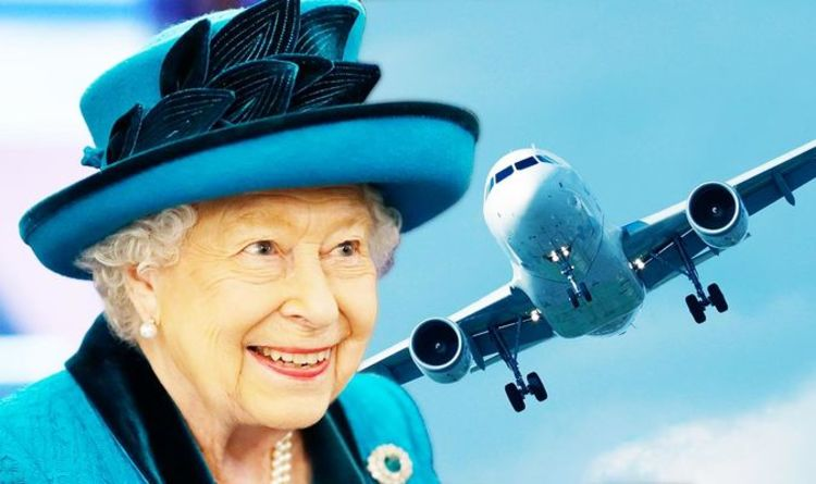 Queen Elizabeth II never travels without this personalised item