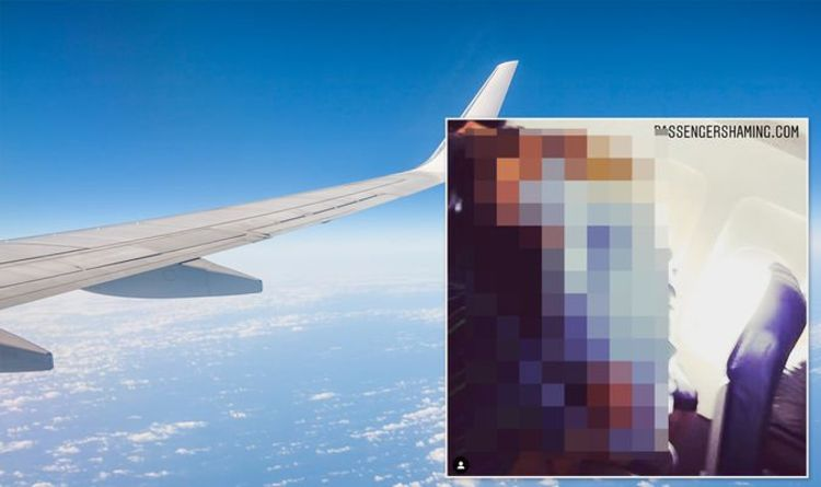 Flights: Couple snapped enjoying very saucy deed on plane seat in shocking photo