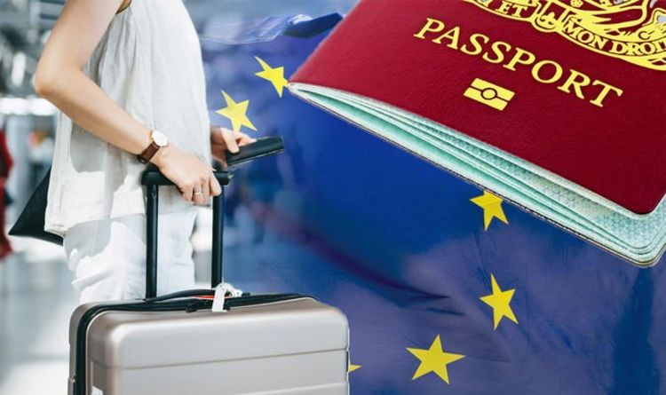 Brexit warning: Britons risk being turned away from EU airports if their passport has this