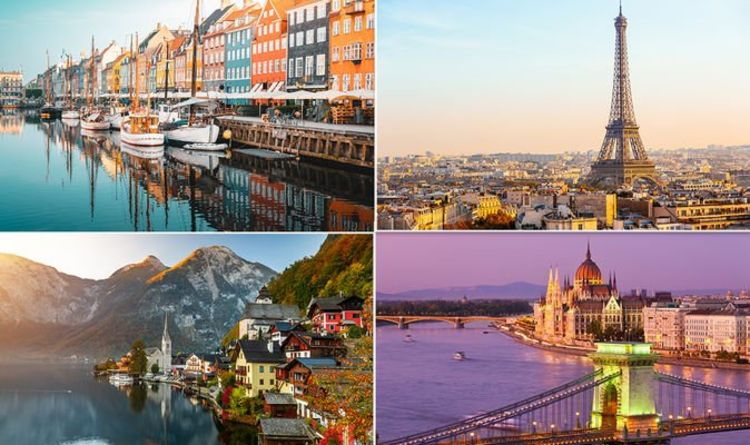 Wanderlust: Inspiration for your next escape with some of Europe's most picturesque cities